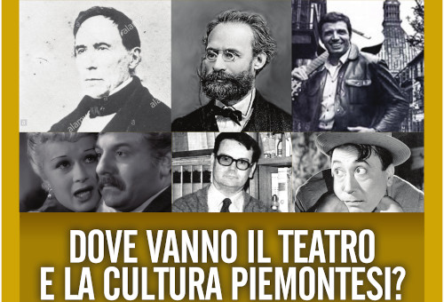 Where do the Piedmontese Theater and Culture go?
